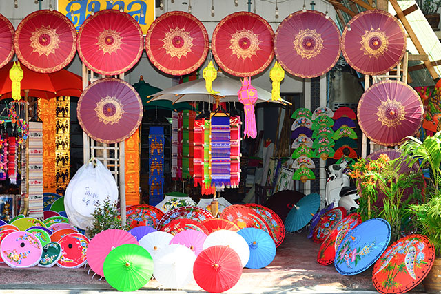 Bo Sang Umbrella Village - 10 Places to Discover the Essence of Chiang Mai