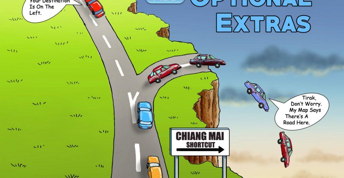 Mietwagen Extras Chiang Mai