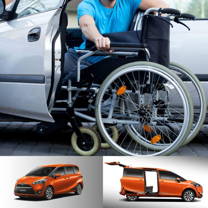 Location voiture handicapé – Louer un véhicule handicapé en Chiang Mai.