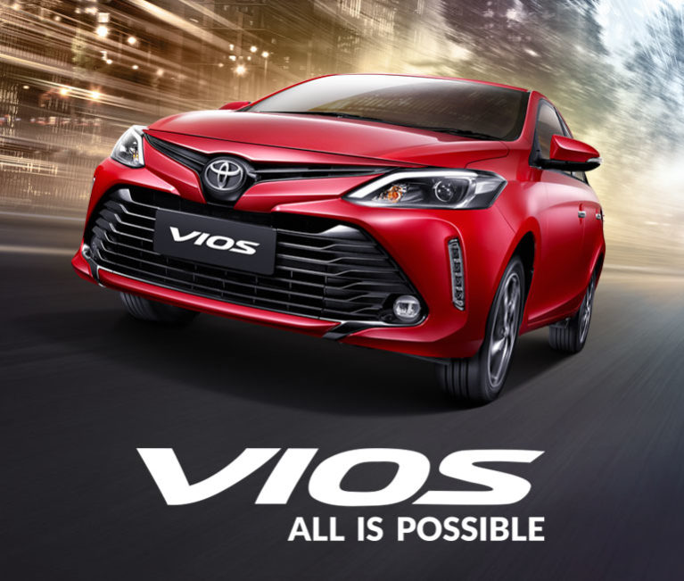 Your new Vios. Your drive. Your way!