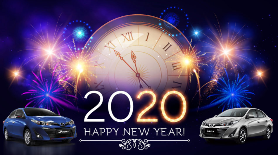 Happy New Year 2020 Car Rental Chiangmai Budgetcatcher
