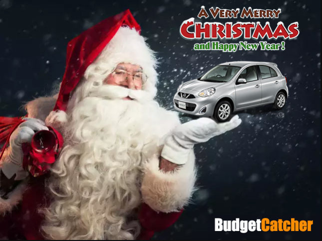Christmas Car Hire from Budgetcatcher Car Rental Chiang Mai